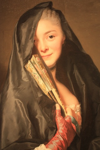 """Stockholm, Nationalmuseum (Alexander Roslin """"The Lady with the veil"""")"""