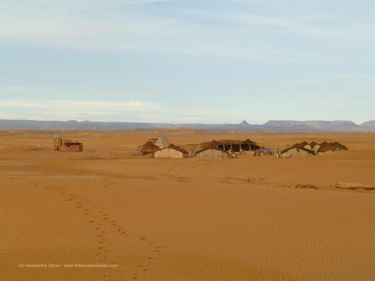 Sahara, Dunes de Chegaga, il nostro campo