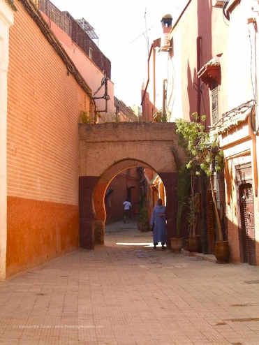 Marrakech, medina
