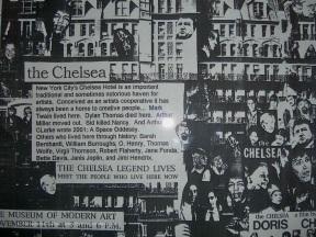 dentro il Chelsea Hotel