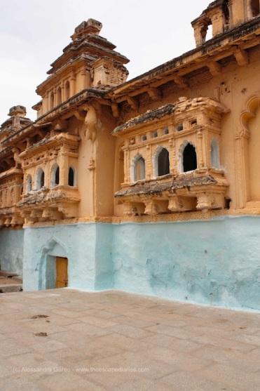 Gagan Mahal o Old Palace, Anegundi i