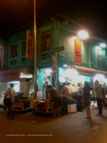 Singapore, Little India by night