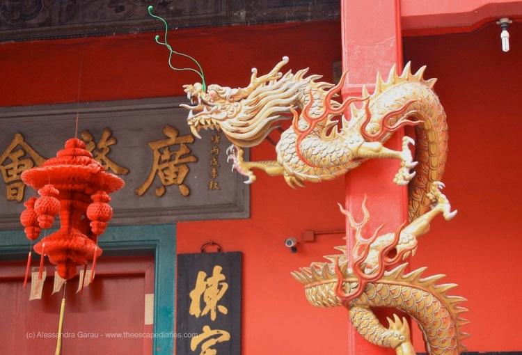 Kuala Lumpur, tempio cinese