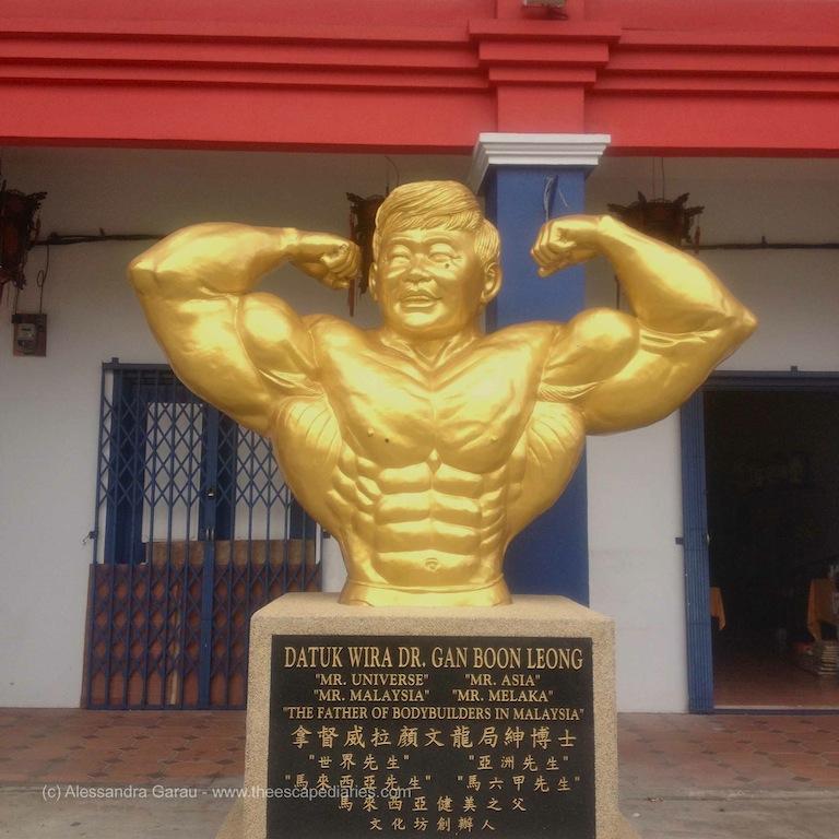 Malacca, l'idolo del body building malesiano