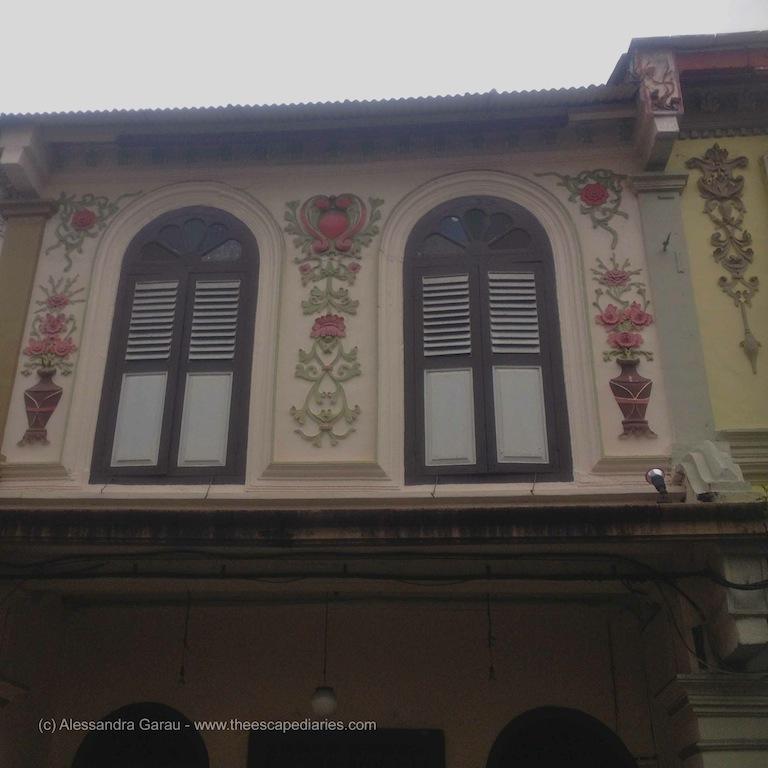 Malacca, antiche case paranakiane