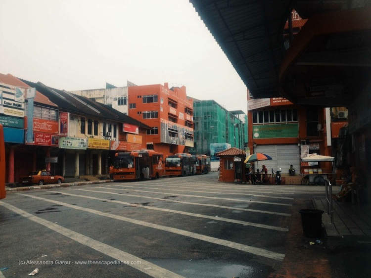 Kota Bahru, bus station
