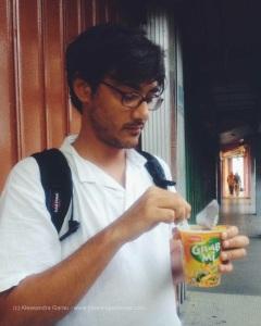 Kota Bahru, spuntino alla bus station