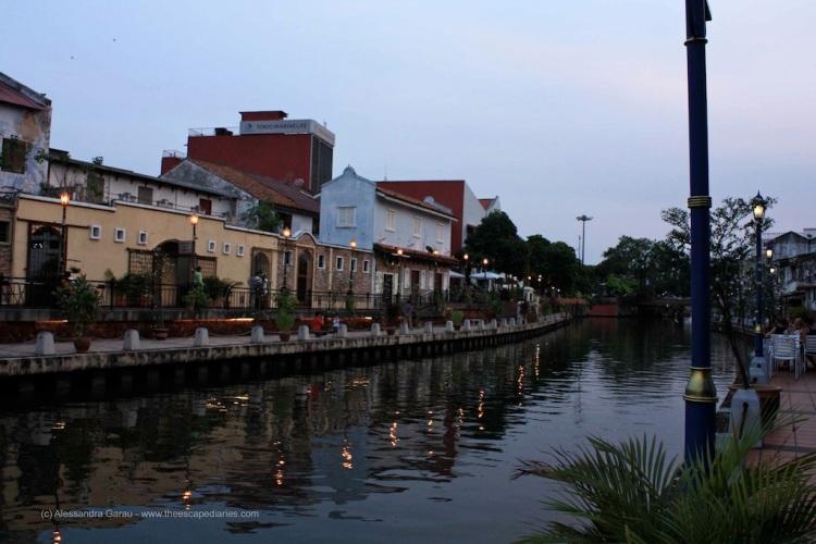 Malacca, il fiume