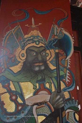 Portone di un tempio, Malacca