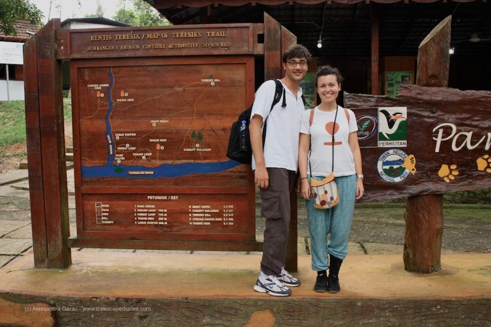 Esploratori pronti alla giungla del Taman Negara (no, ma il mio look anti sanguisuga?!?)