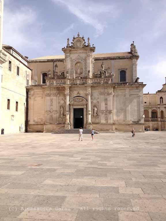 Lecce, Piazza del Duomo
