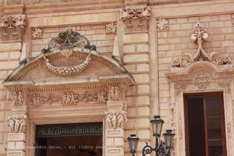 Lecce, palazzo della Provincia