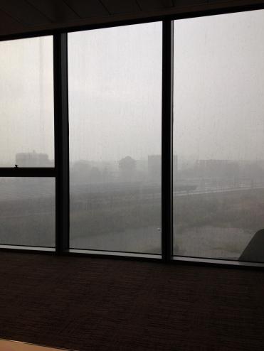 Vista dall'ufficio...