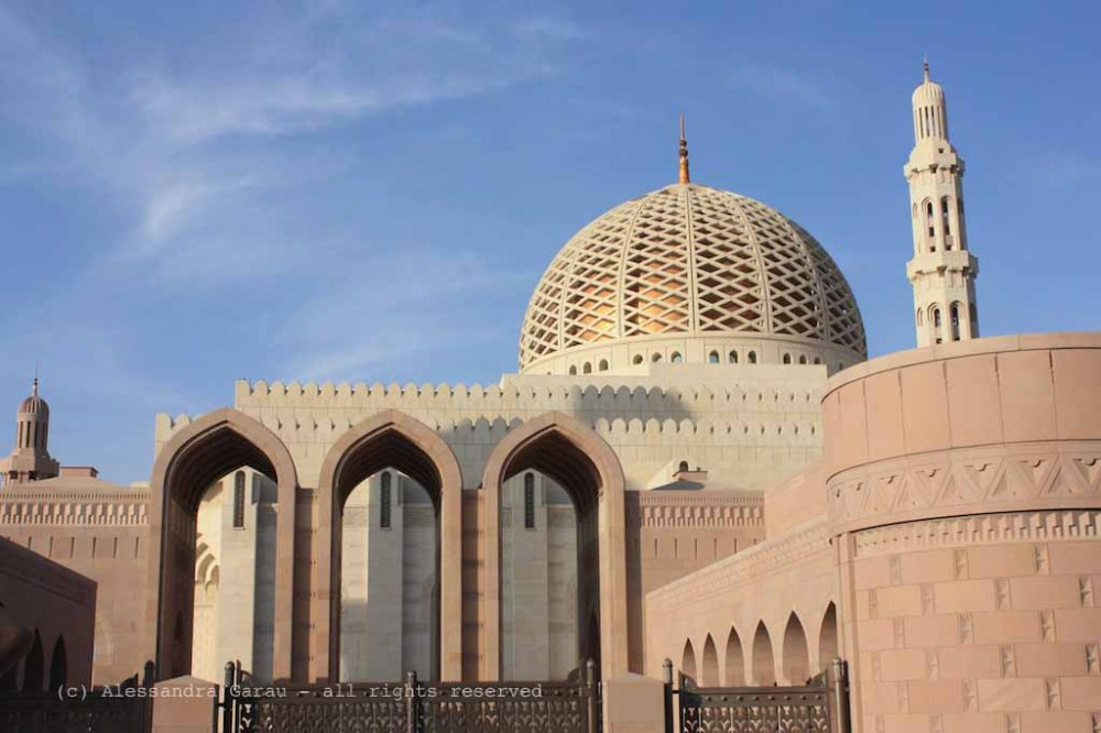 Muscat – Sultan Qaboos Grand Mosque