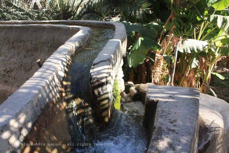 Misfat, il falaj, canali d'irrigazione