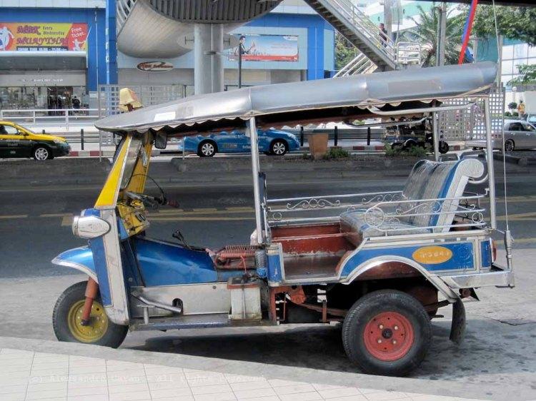 Tuk-tuk a Bangkok