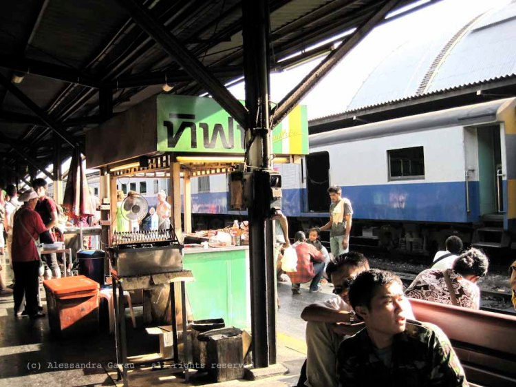 Treno per Ayuttaya