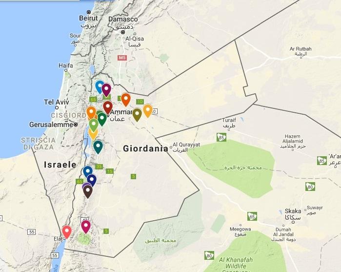 giordania-tappe