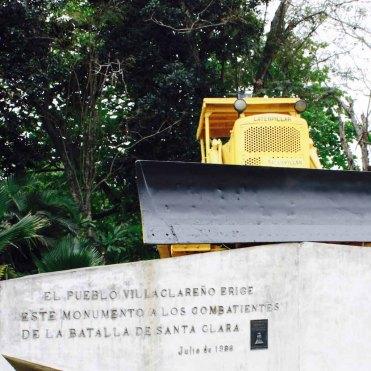 Monumento al Treno Blindato, Santa Clara