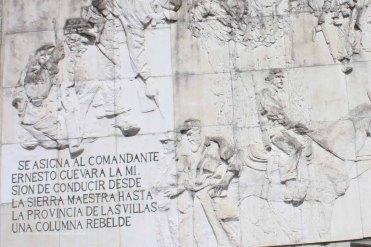 Bassorilievo del mausoleo del Che, Santa Clara