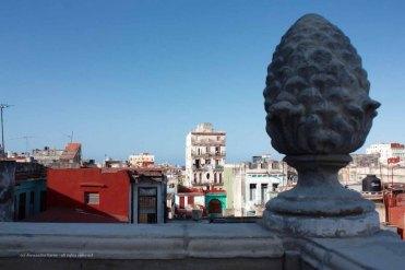 L'Avana vista dalla terrazza de La Guarida, Cuba