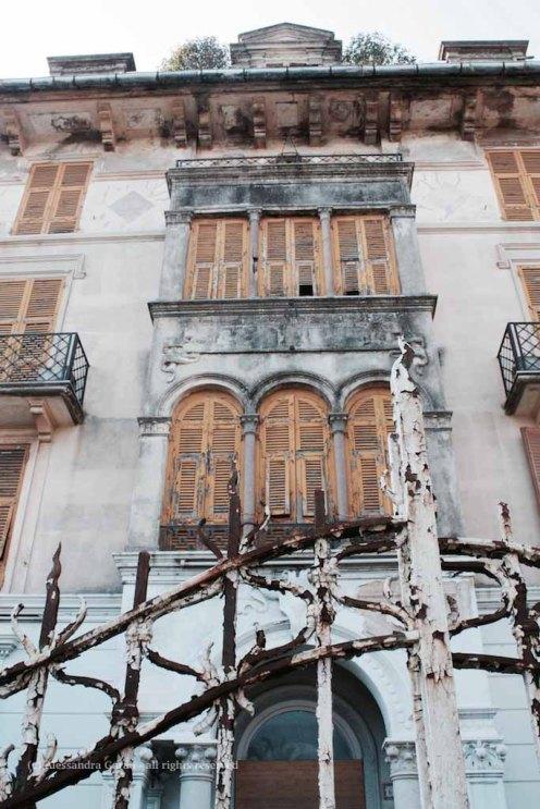 L'hotel Bel Soggiorno, abbandonato da più di 20 anni