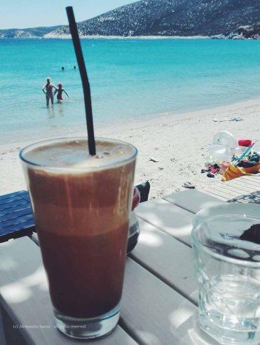 Cappuccino a Platis Gialos