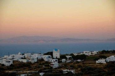 Panorama di Sifnos da Apollonìa