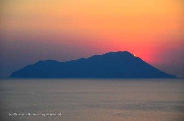 Milos, tramonti da Plaka