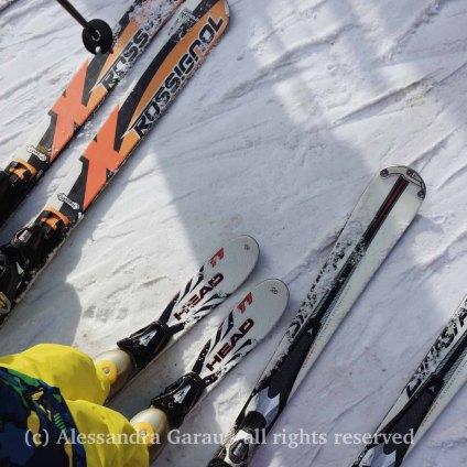 Prima volta sugli sci, febbraio 2018