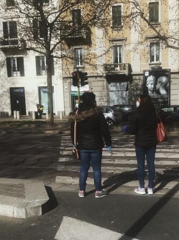 le strade di Milano